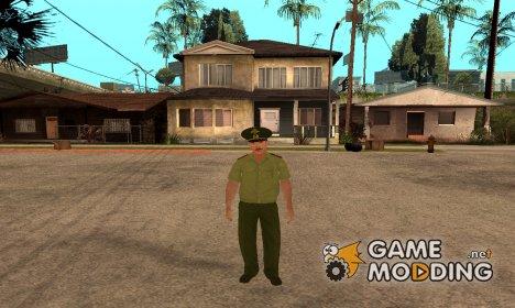 Старший прапорщик Данилюк для GTA San Andreas
