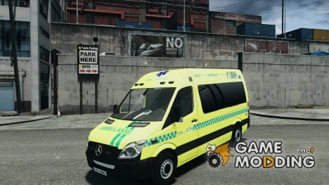 Mercedes-Benz Sprinter PK731 Ambulance для GTA 4