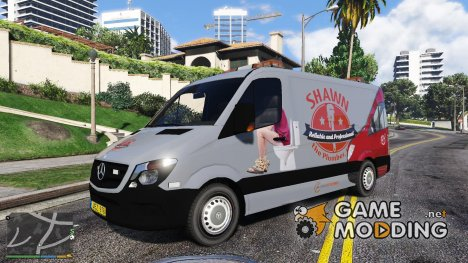 2014 Mercedes-Benz Sprinter Plumber PJ for GTA 5