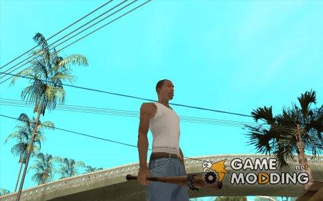 Бита с голубой повязкой for GTA San Andreas