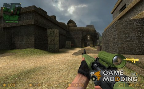 Diemaco Color C7A1 for Counter-Strike Source