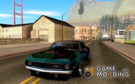 Chevrolet Camaro z28 my falken edition для GTA San Andreas