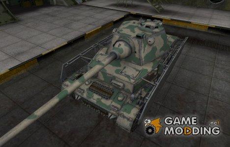 Скин для немецкого танка PzKpfw IV Schmalturm для World of Tanks
