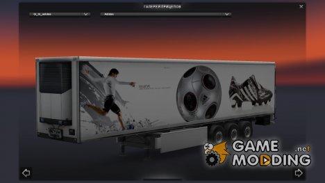 Автономный прицеп Adidas для Euro Truck Simulator 2