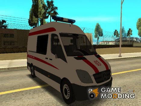 Mersedes Benz Sprinter Скорая Помощь for GTA San Andreas