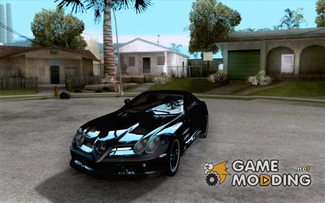 Mercedes SLR McLaren 722 Edition Final for GTA San Andreas