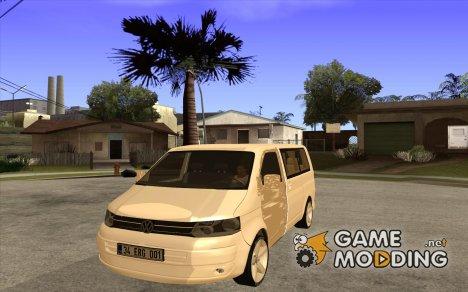 Volkswagen Caravelle 2011 SWB for GTA San Andreas