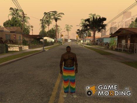 Радужные штаны for GTA San Andreas