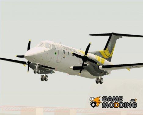 Embraer EMB-120 Brasilia Passaredo Linhas Aereas (PT-SLE) для GTA San Andreas