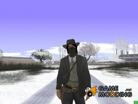 John Marston (Red Dead Redemption) v2 for GTA San Andreas