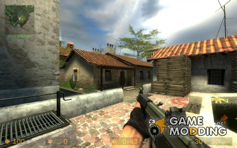 Hav0cs Clean Sig552 для Counter-Strike Source