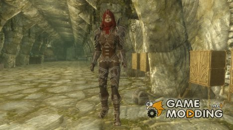 Demon Hunter Armor by Jojjo for TES V Skyrim