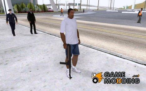 "Немецкий автомат MP80 ""Шмайсер"" для GTA San Andreas"