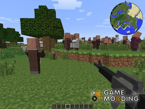 Stefinus 3D Guns Mod for Minecraft