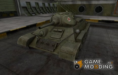 Скин с надписью для T-34 для World of Tanks