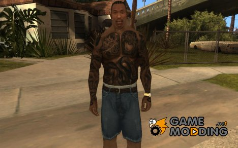 Ami James & Chris Nunez Tattoo для GTA San Andreas