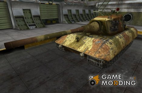Ремоделинг и шкурка для Е-100 для World of Tanks