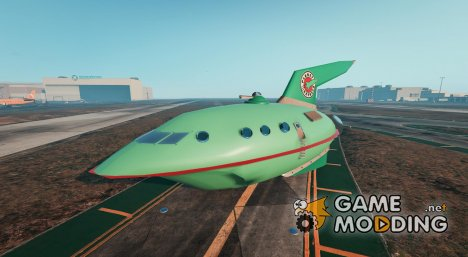 Planet Express Ship BETA3 для GTA 5