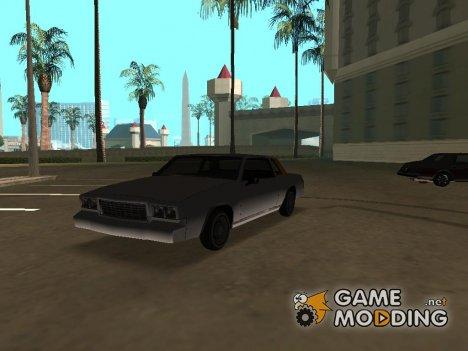 Tahoma Coupe для GTA San Andreas