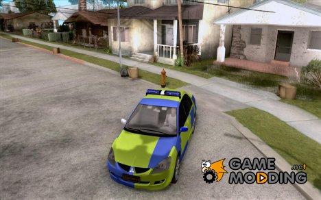 Mitsubishi Lancer Полиция for GTA San Andreas