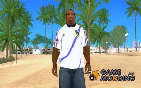Форма ФК Los Angeles Galaxy for GTA San Andreas