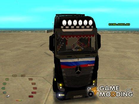 Mersedes Benz Actros for GTA San Andreas