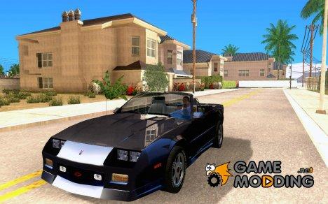 Chevrolet Camaro 1992 for GTA San Andreas