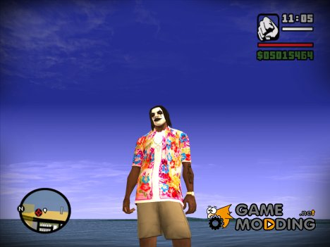 Hawaiian Shirt  by crow для GTA San Andreas