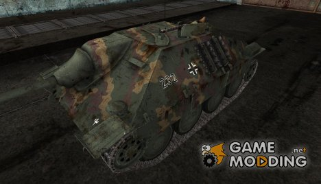 Hetzer от kirederf7 для World of Tanks