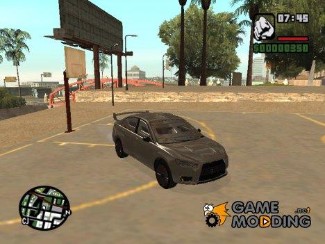 """Бронированная машина """"Kuruma"""" из GTA V for GTA San Andreas"""