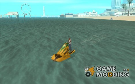 Kawasaki Jet Ski Watercraft для GTA San Andreas