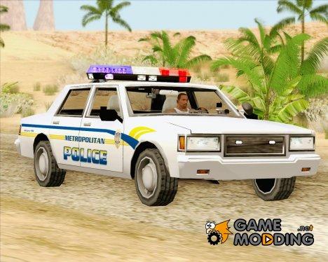 Police LV Metropolitan Police for GTA San Andreas