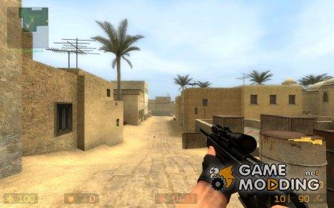 fivenine's scout 2tonechrome v2 for Counter-Strike Source