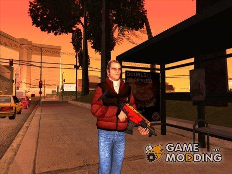 Чисто выбритый Тревор for GTA San Andreas