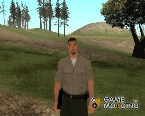 Охранник тюрьмы for GTA San Andreas