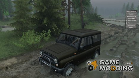 УАЗ 3153 сток for Spintires 2014