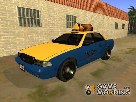 Taxiиз GTA 5 for GTA San Andreas