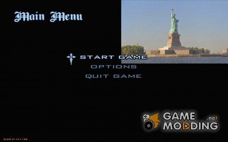 Новое меню в стиле Нью-Йорк for GTA San Andreas