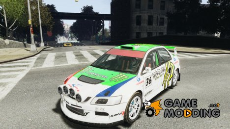 Mitsubishi Lancer Evolution IX RallyCross for GTA 4