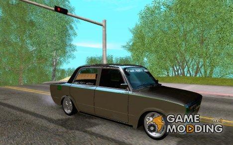 ВАЗ 2106 Зелёнка для GTA San Andreas