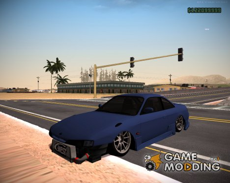 Nissan Silvia S14 Army Drift for GTA San Andreas
