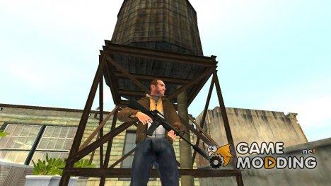 Автоматический карабин Colt M4A1 v.2 для GTA 4