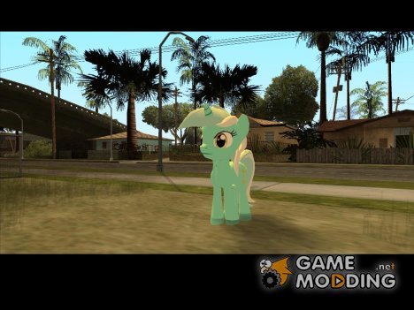 Lyra (My Little Pony) для GTA San Andreas