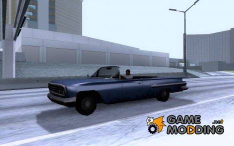 Voodoo Cabrio for GTA San Andreas