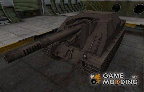 Перекрашенный французкий скин для Lorraine 155 mle. 51 for World of Tanks
