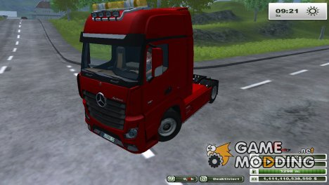 Mercedes-Benz Actros MP4 for Farming Simulator 2013
