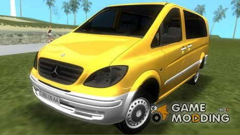 Mercedes-Benz Vito 2007 for GTA Vice City
