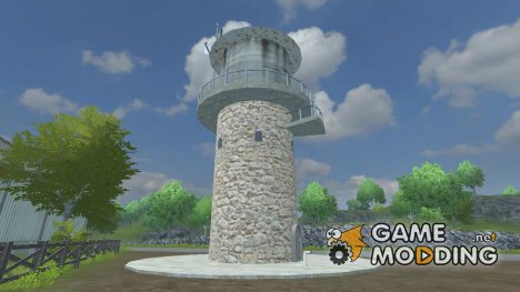 Water Tower v 2.1 for Farming Simulator 2013
