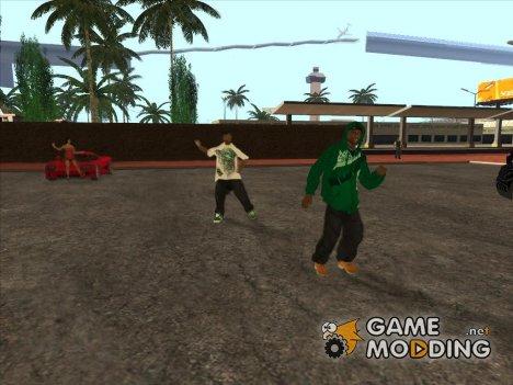 Вечеринка около железнодорожной станции для GTA San Andreas