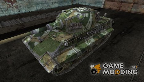 "Шкурка для E-75 ""Bones"" для World of Tanks"